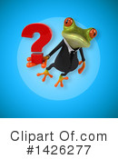 Business Frog Clipart #1426277 by Julos