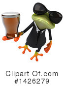 Business Frog Clipart #1426279 by Julos