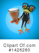 Business Frog Clipart #1426280 by Julos