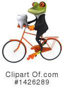 Business Frog Clipart #1426289 by Julos