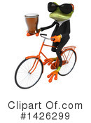 Business Frog Clipart #1426299 by Julos