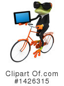 Business Frog Clipart #1426315 by Julos