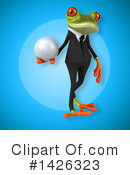 Business Frog Clipart #1426323 by Julos