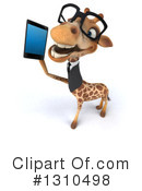 Business Giraffe Clipart #1310498 by Julos