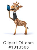 Business Giraffe Clipart #1313566 by Julos