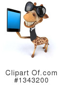 Business Giraffe Clipart #1343200 by Julos
