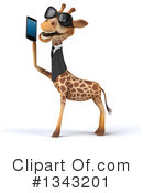 Business Giraffe Clipart #1343201 by Julos