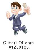 Business Man Clipart #1200106 by AtStockIllustration