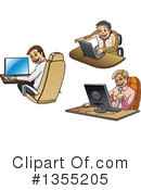 Business Man Clipart #1355205 by Vector Tradition SM