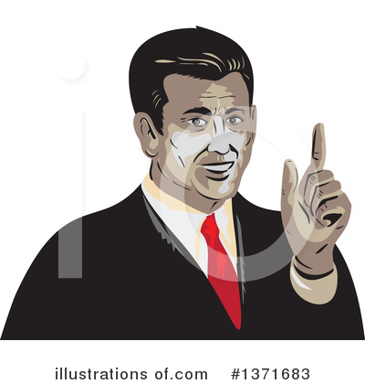 Businessman Clipart #1371683 by patrimonio