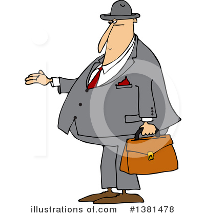 Businessman Clipart #1381478 by djart