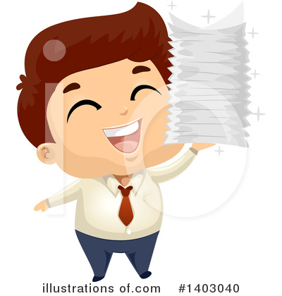 Businessman Clipart #1403040 by BNP Design Studio