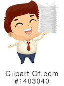 Royalty-Free (RF) Business Man Clipart Illustration #1403040