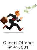 Business Man Clipart #1410381 by Vector Tradition SM