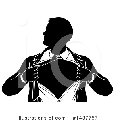 Super Hero Clipart #1437757 by AtStockIllustration