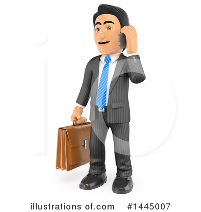Royalty-Free (RF) Business Man Clipart Illustration by Texelart - Stock Sample #1445007