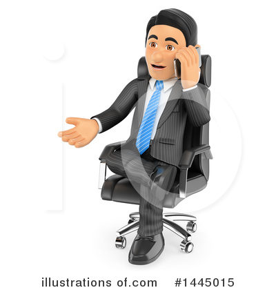 Royalty-Free (RF) Business Man Clipart Illustration by Texelart - Stock Sample #1445015