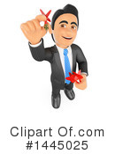 Business Man Clipart #1445025 by Texelart