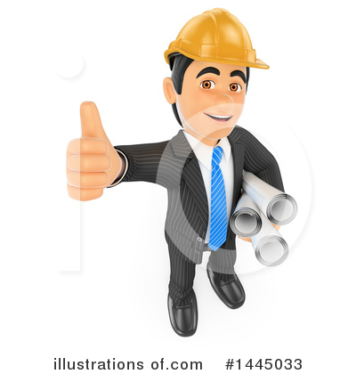 Royalty-Free (RF) Business Man Clipart Illustration by Texelart - Stock Sample #1445033