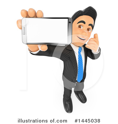 Royalty-Free (RF) Business Man Clipart Illustration by Texelart - Stock Sample #1445038