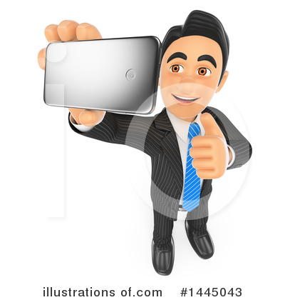 Royalty-Free (RF) Business Man Clipart Illustration by Texelart - Stock Sample #1445043