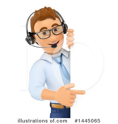 Call Center Clipart #1445065 by Texelart