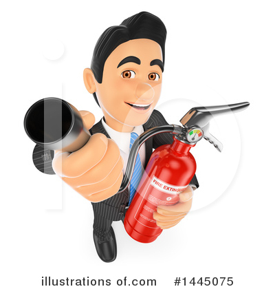 Fire Extinguisher Clipart #1445075 by Texelart