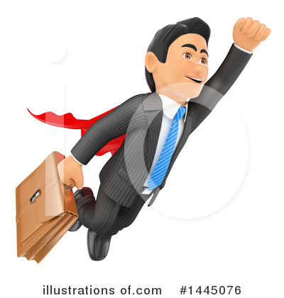 Royalty-Free (RF) Business Man Clipart Illustration by Texelart - Stock Sample #1445076