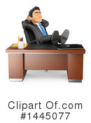 Royalty-Free (RF) Business Man Clipart Illustration #1445077