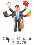 Business Man Clipart #1445078 by Texelart