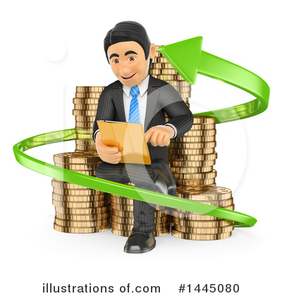 Business Man Clipart #1445080 by Texelart