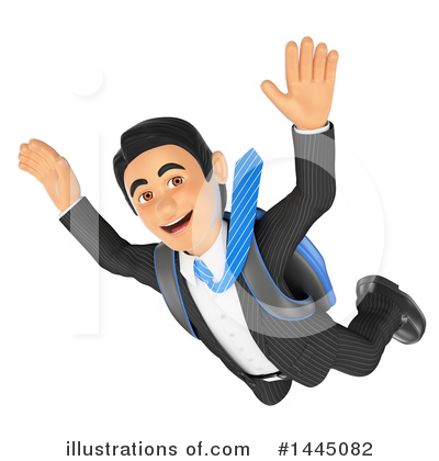 Royalty-Free (RF) Business Man Clipart Illustration by Texelart - Stock Sample #1445082