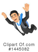 Royalty-Free (RF) Business Man Clipart Illustration #1445082
