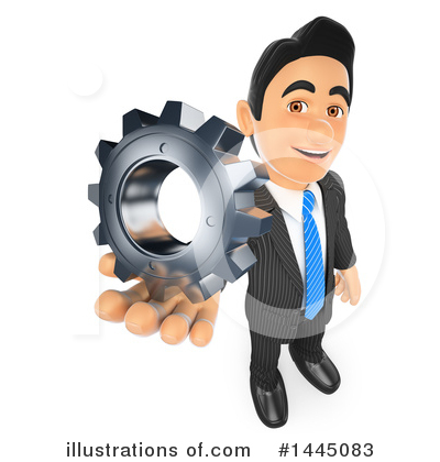 Royalty-Free (RF) Business Man Clipart Illustration by Texelart - Stock Sample #1445083