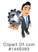 Royalty-Free (RF) Business Man Clipart Illustration #1445083