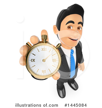 Royalty-Free (RF) Business Man Clipart Illustration by Texelart - Stock Sample #1445084