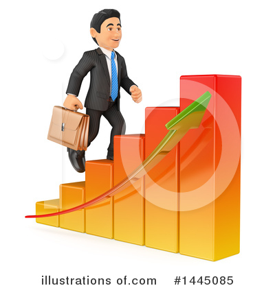 Business Man Clipart #1445085 by Texelart