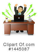 Royalty-Free (RF) Business Man Clipart Illustration #1445087