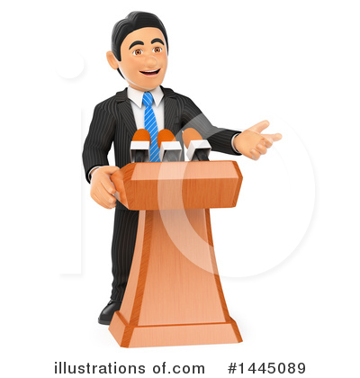 Business Man Clipart #1445089 by Texelart
