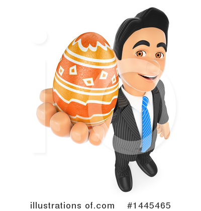 Royalty-Free (RF) Business Man Clipart Illustration by Texelart - Stock Sample #1445465
