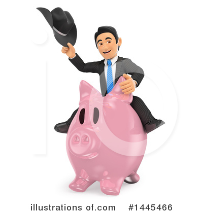 Royalty-Free (RF) Business Man Clipart Illustration by Texelart - Stock Sample #1445466