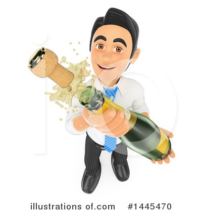 Business Man Clipart #1445470 by Texelart