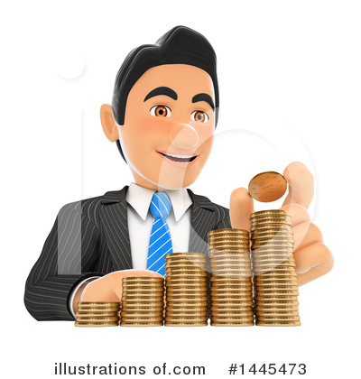 Business Man Clipart #1445473 by Texelart