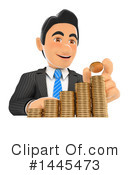 Royalty-Free (RF) Business Man Clipart Illustration #1445473