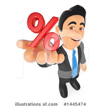 Royalty-Free (RF) Business Man Clipart Illustration by Texelart - Stock Sample #1445474