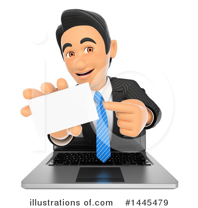Business Man Clipart #1445479 by Texelart
