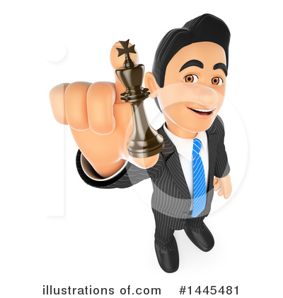 Royalty-Free (RF) Business Man Clipart Illustration by Texelart - Stock Sample #1445481