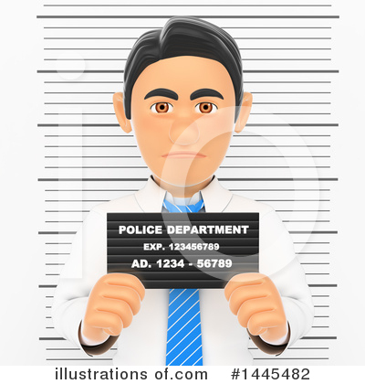 Royalty-Free (RF) Business Man Clipart Illustration by Texelart - Stock Sample #1445482
