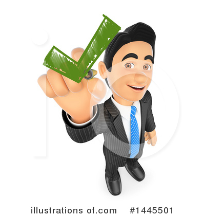 Business Man Clipart #1445501 by Texelart