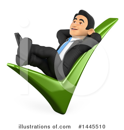 Business Man Clipart #1445510 by Texelart